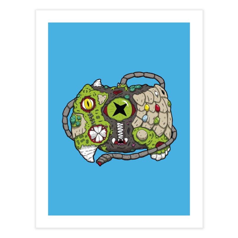 Controller Freaks - Specimen X-B0X Home Fine Art Print by Mystic Soda