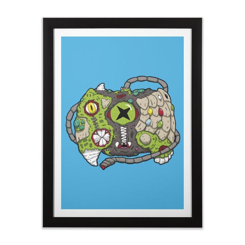 Controller Freaks - Specimen X-B0X Home Framed Fine Art Print by Mystic Soda