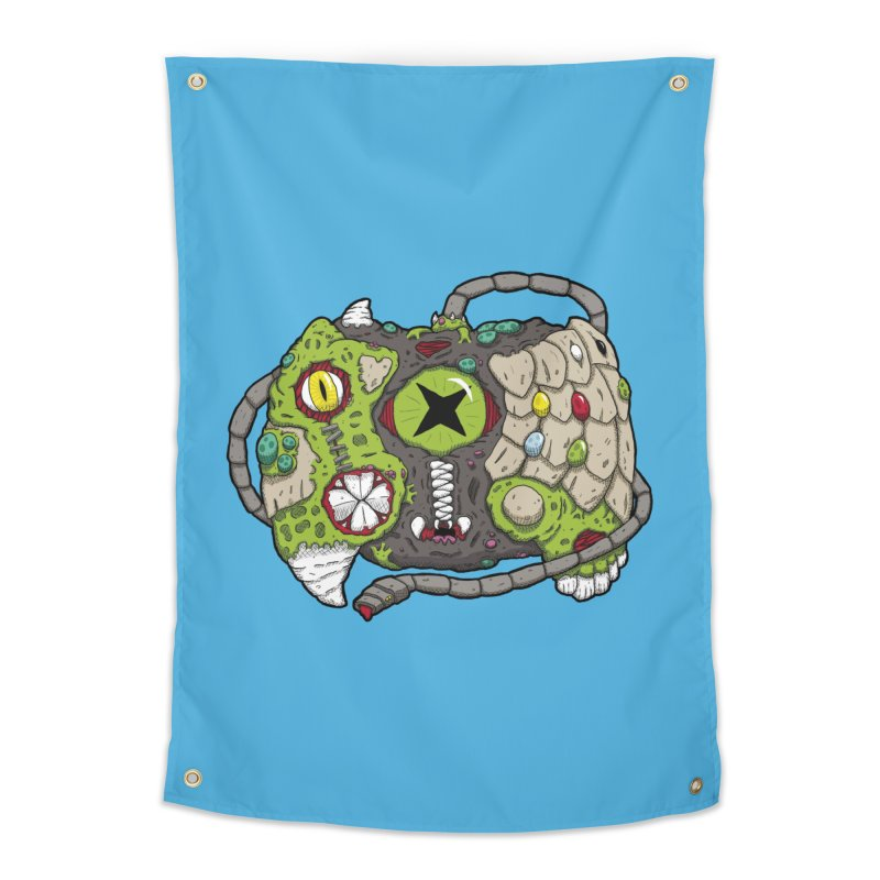 Controller Freaks - The XBOX (Original) Home Tapestry by Mystic Soda Shoppe