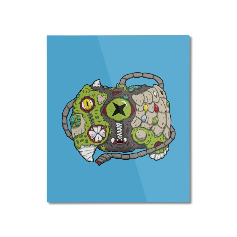 Controller Freaks - The XBOX (Original) Home Mounted Aluminum Print by Mystic Soda Shoppe