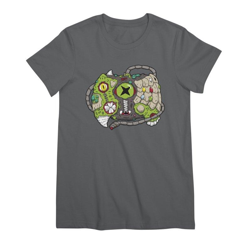 Controller Freaks - Specimen X-B0X Women's Premium T-Shirt by Mystic Soda