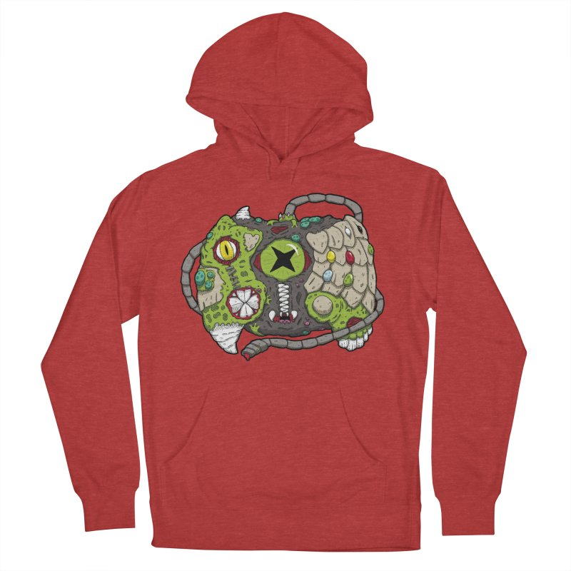 Controller Freaks - The XB0X (Original) Men's French Terry Pullover Hoody by Mystic Soda Shoppe