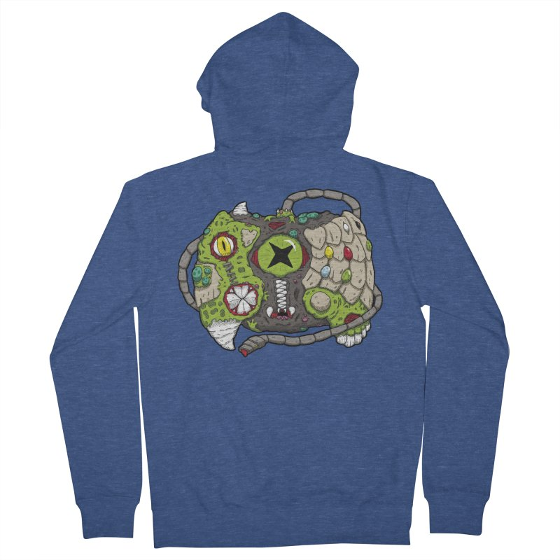 Controller Freaks - The XBOX (Original) Women's French Terry Zip-Up Hoody by Mystic Soda Shoppe