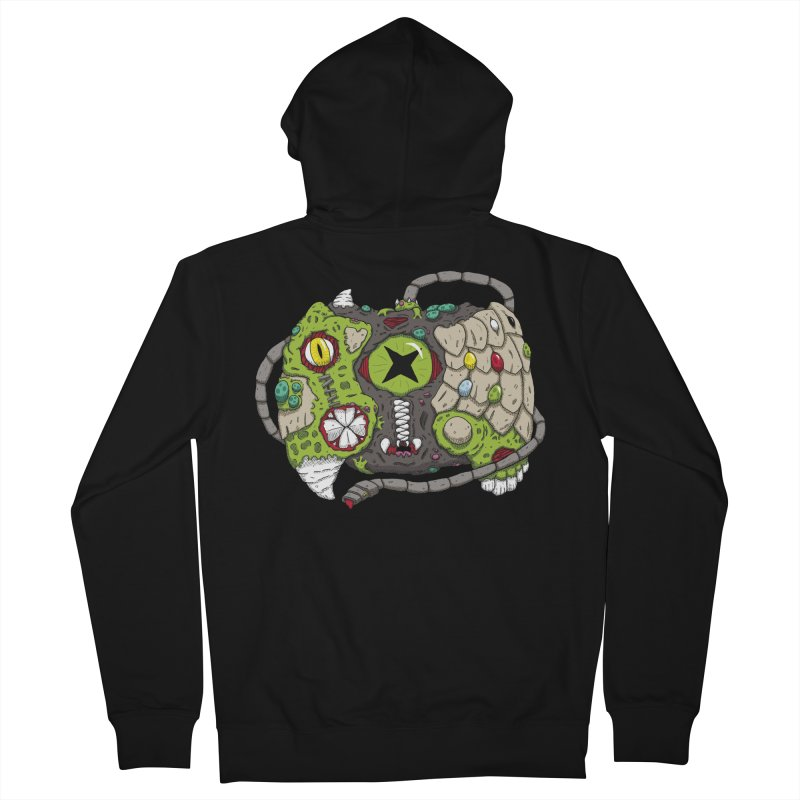 Controller Freaks - The XBOX (Original) Men's French Terry Zip-Up Hoody by Mystic Soda Shoppe