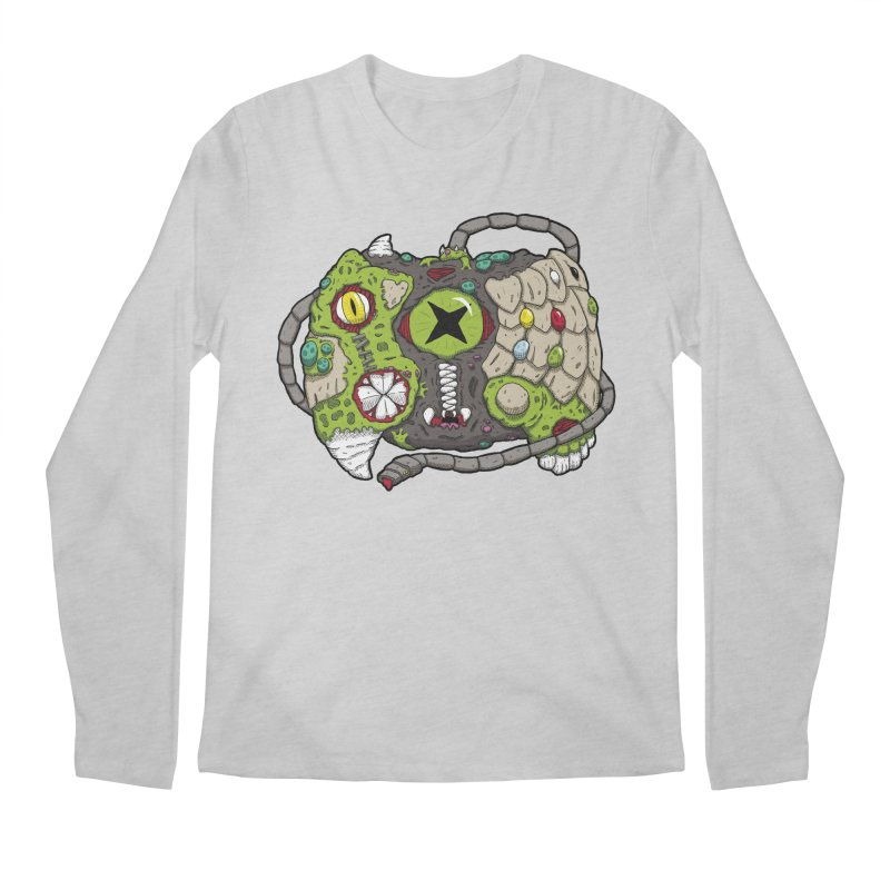 Controller Freaks - The XB0X (Original) Men's Regular Longsleeve T-Shirt by Mystic Soda Shoppe