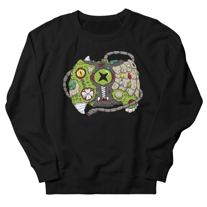 Controller Freaks - Specimen X-B0X Women's French Terry Sweatshirt by Mystic Soda