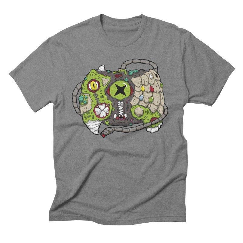 Controller Freaks - The XBOX (Original) Men's Triblend T-Shirt by Mystic Soda Shoppe