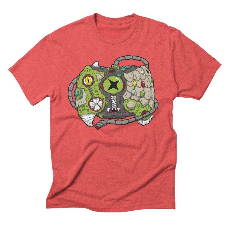 Controller Freaks - Specimen X-B0X Men's Triblend T-Shirt by Mystic Soda