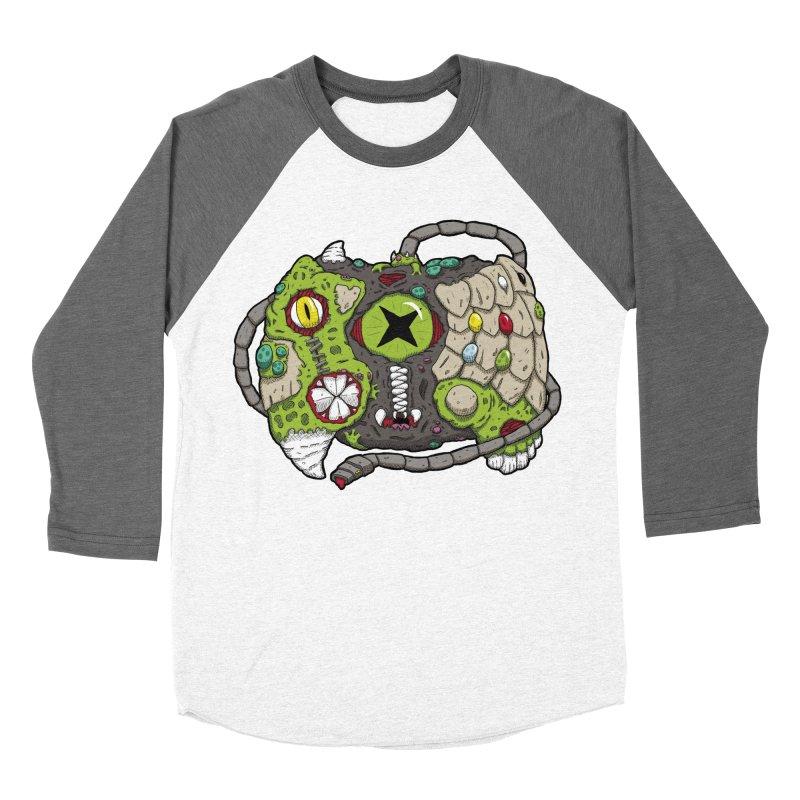 Controller Freaks - Specimen X-B0X Women's Baseball Triblend Longsleeve T-Shirt by Mystic Soda