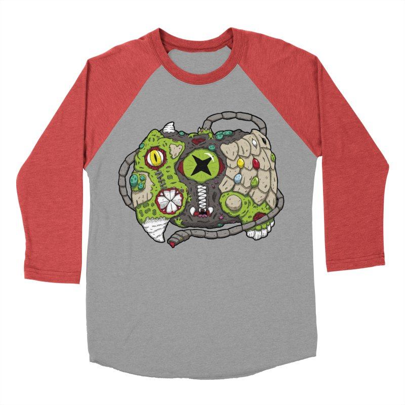 Controller Freaks - The XBOX (Original) Women's Baseball Triblend T-Shirt by Mystic Soda Shoppe
