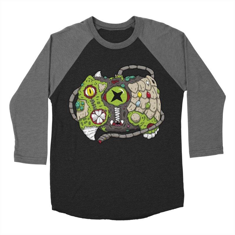 Controller Freaks - The XBOX (Original) Women's Baseball Triblend Longsleeve T-Shirt by Mystic Soda Shoppe
