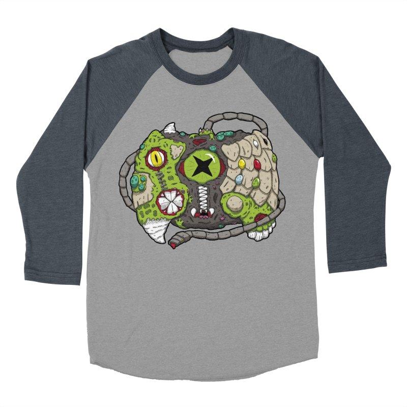 Controller Freaks - The XBOX (Original) Men's Baseball Triblend Longsleeve T-Shirt by Mystic Soda Shoppe