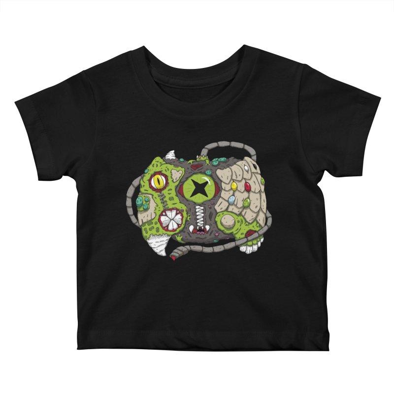 Controller Freaks - The XBOX (Original) Kids Baby T-Shirt by Mystic Soda Shoppe