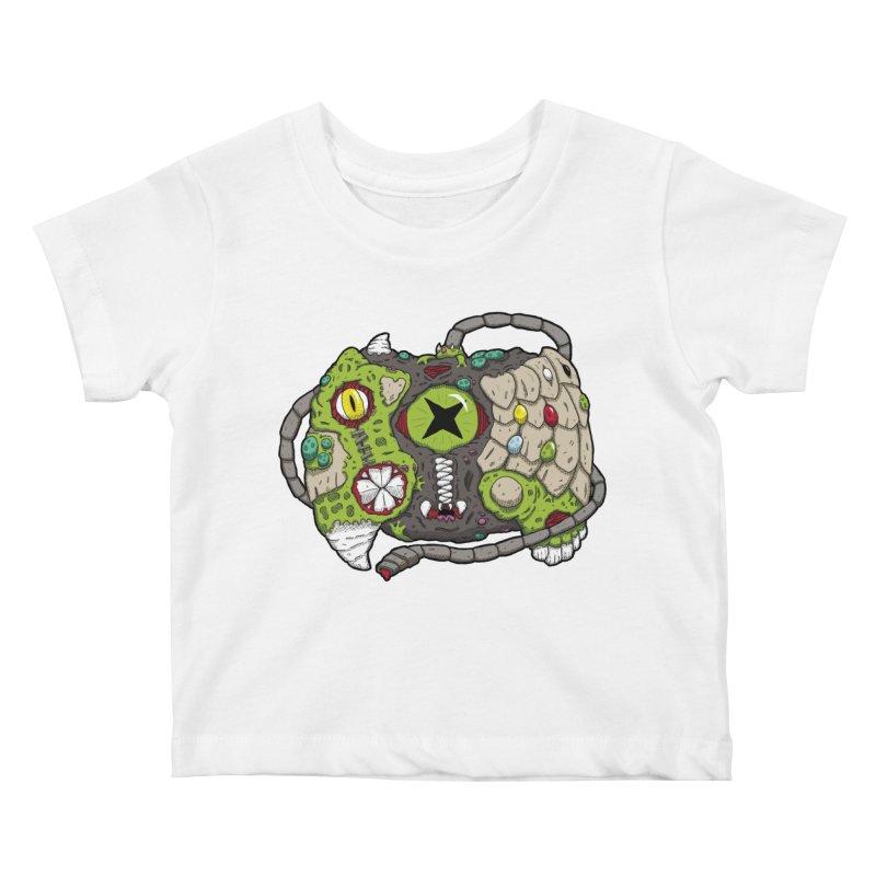 Controller Freaks - Specimen X-B0X Kids Baby T-Shirt by Mystic Soda