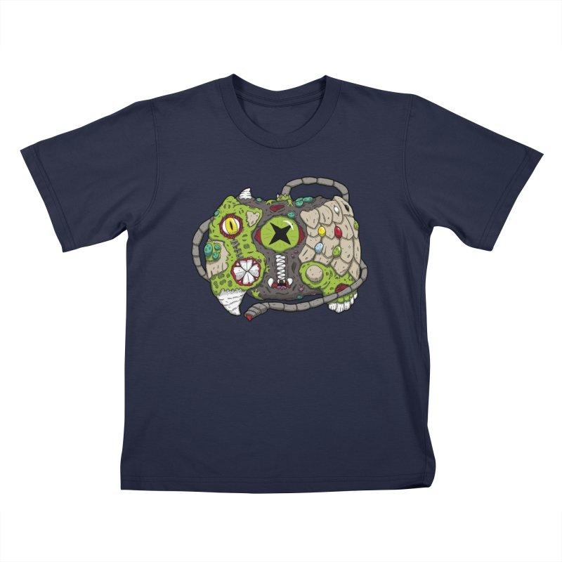 Controller Freaks - The XB0X (Original) Kids T-Shirt by Mystic Soda Shoppe