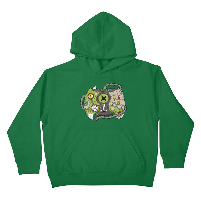 Controller Freaks - The XB0X (Original) Kids Pullover Hoody by Mystic Soda Shoppe