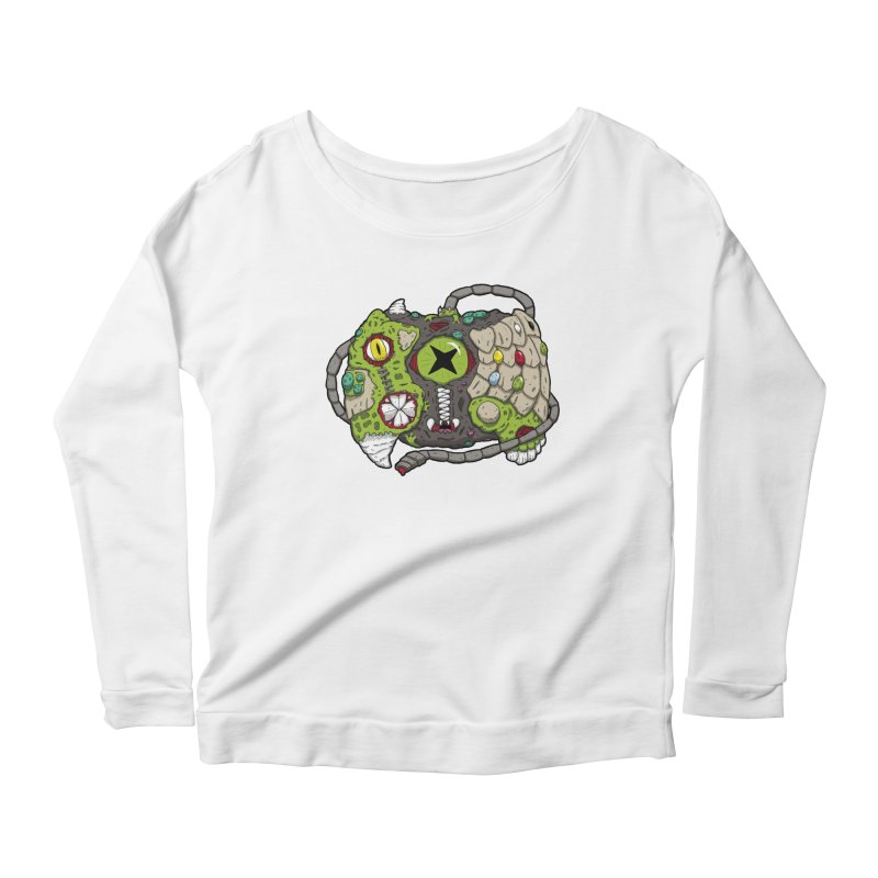 Controller Freaks - Specimen X-B0X Women's Scoop Neck Longsleeve T-Shirt by Mystic Soda