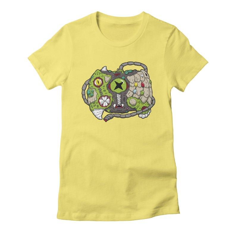 Controller Freaks - Specimen X-B0X Women's Fitted T-Shirt by Mystic Soda