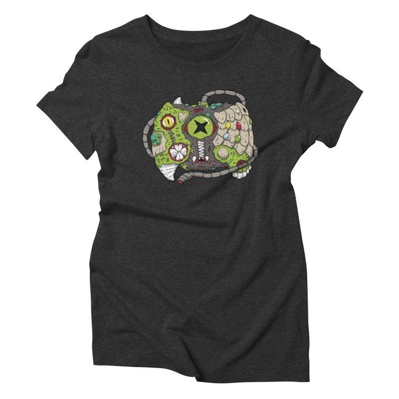 Controller Freaks - Specimen X-B0X Women's Triblend T-Shirt by Mystic Soda