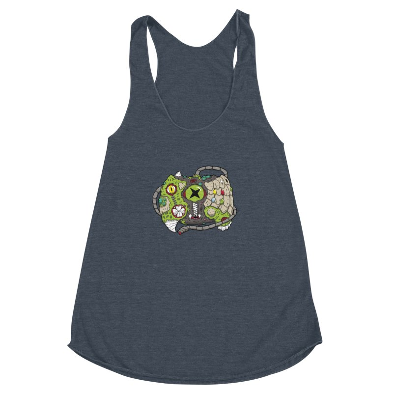 Controller Freaks - The XBOX (Original) Women's Racerback Triblend Tank by Mystic Soda Shoppe
