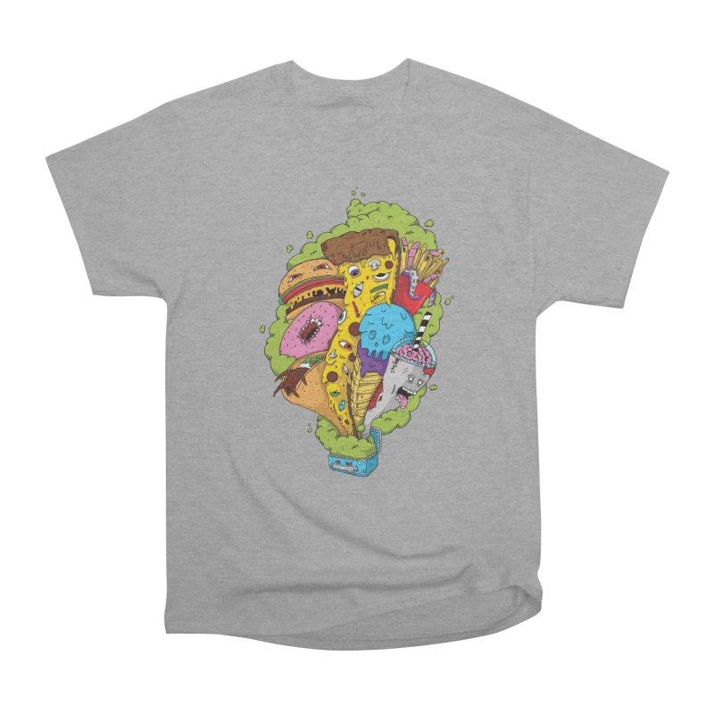 Pandora's Lunch Box Men's Heavyweight T-Shirt by Mystic Soda Shoppe