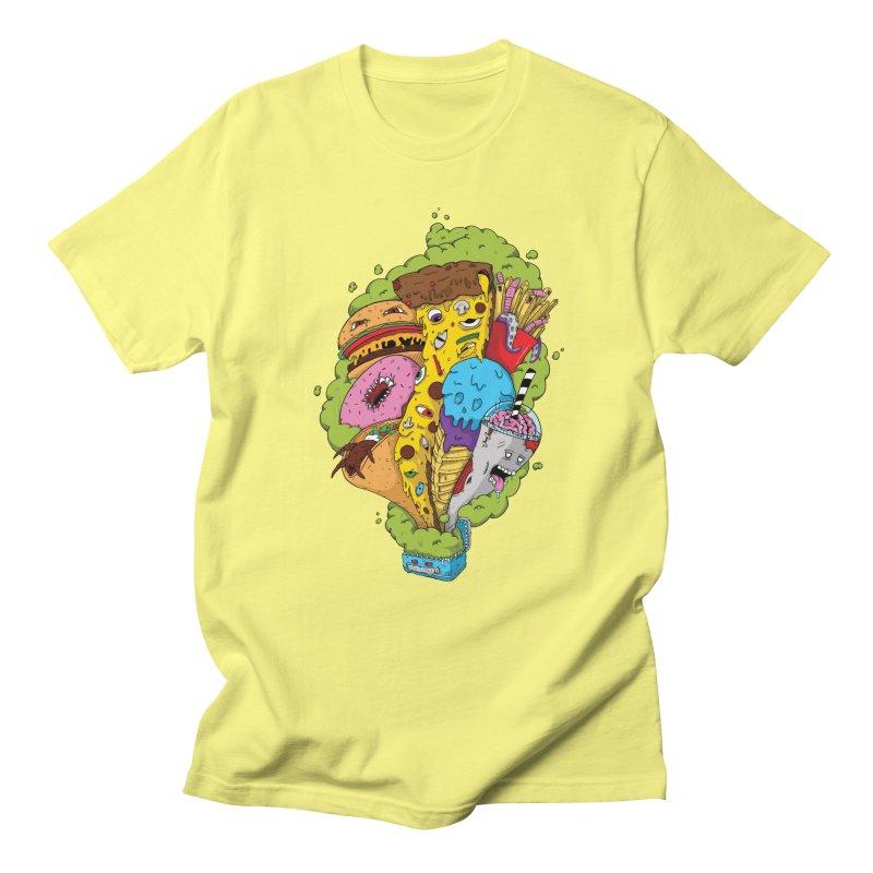 Pandora's Lunch Box Men's T-Shirt by Mystic Soda Shoppe