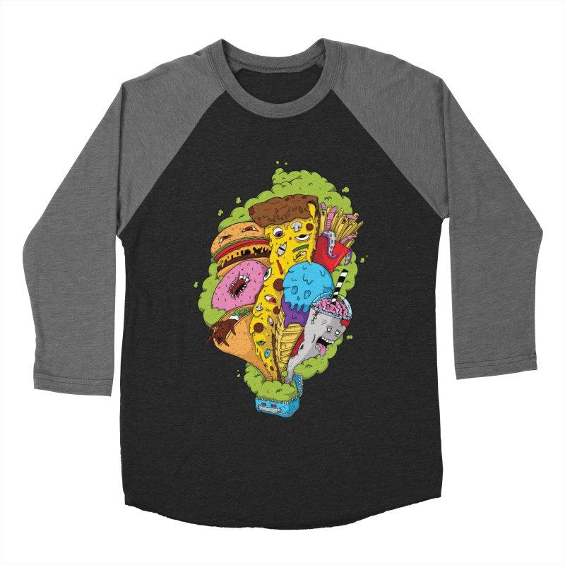 Pandora's Lunch Box Women's Baseball Triblend T-Shirt by Mystic Soda Shoppe