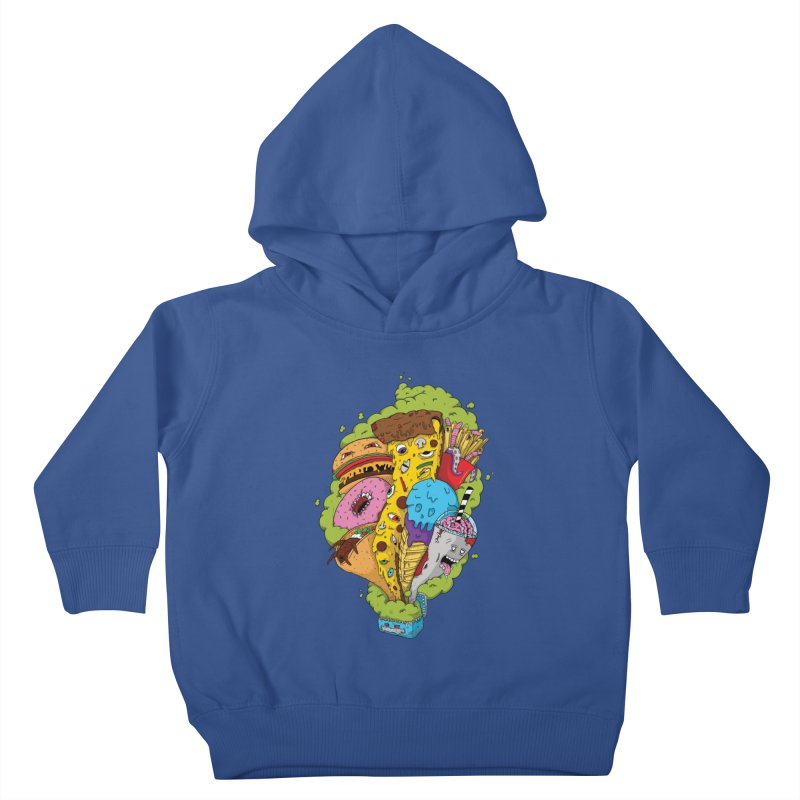 Pandora's Lunch Box Kids Toddler Pullover Hoody by Mystic Soda