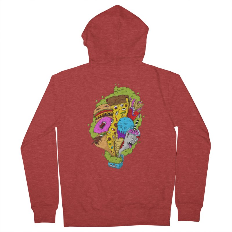 Pandora's Lunch Box Men's Zip-Up Hoody by Mystic Soda Shoppe