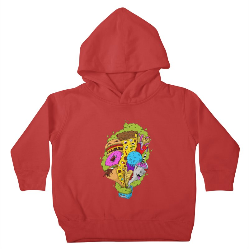 Pandora's Lunch Box Kids Toddler Pullover Hoody by Mystic Soda Shoppe