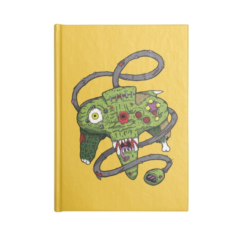 Controller Freaks - N64 Accessories Notebook by Mystic Soda Shoppe