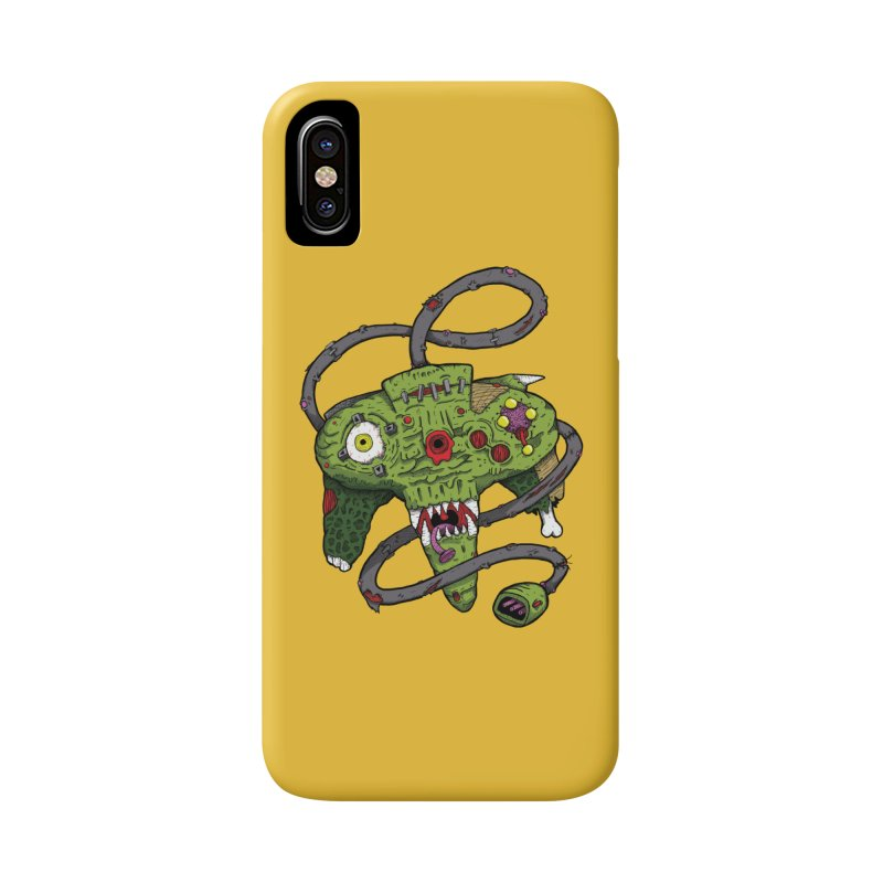 Controller Freaks - N64 Accessories Phone Case by Mystic Soda Shoppe