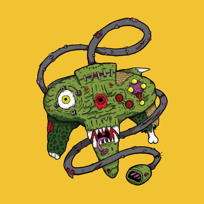 Controller Freaks - N64 by Mystic Soda Shoppe