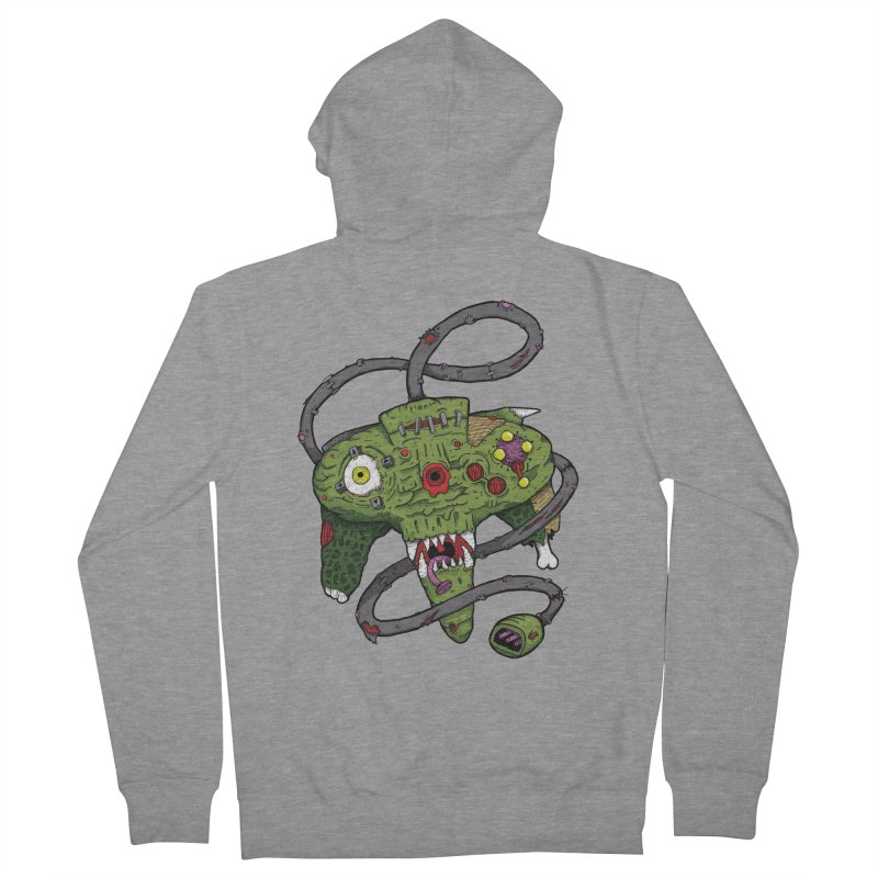 Controller Freaks - N64 Men's Zip-Up Hoody by Mystic Soda Shoppe