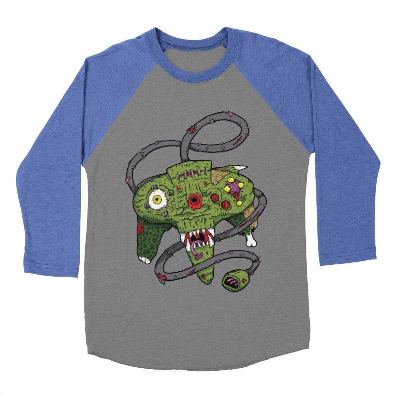 Controller Freaks - N64 Women's Baseball Triblend T-Shirt by Mystic Soda Shoppe