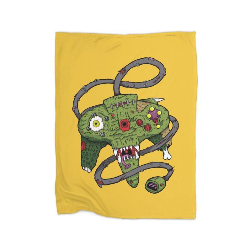 Controller Freaks - N64 Home Blanket by Mystic Soda Shoppe