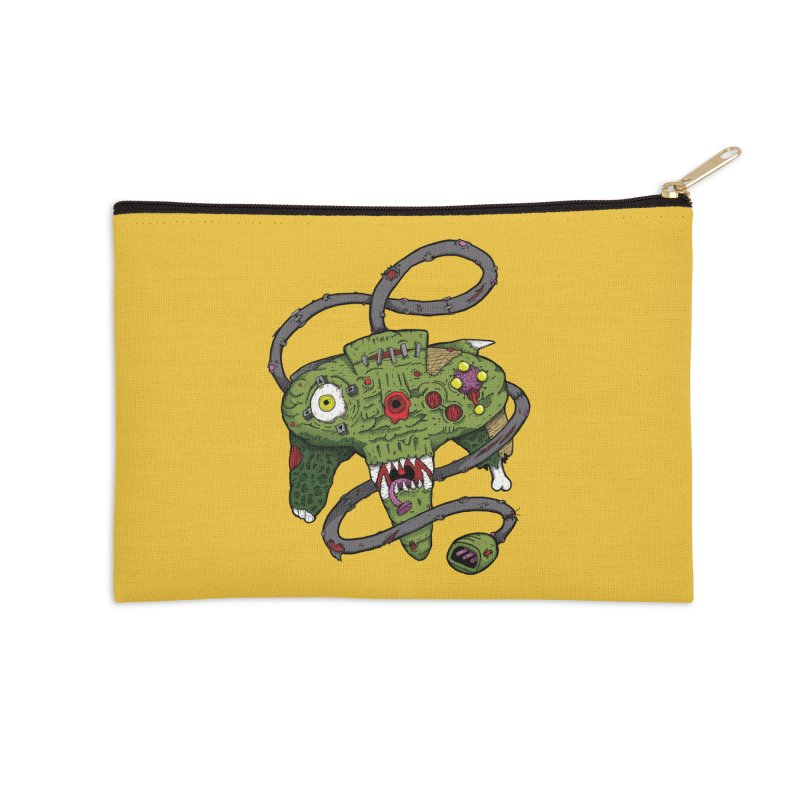 Controller Freaks - N64 Accessories Zip Pouch by Mystic Soda Shoppe