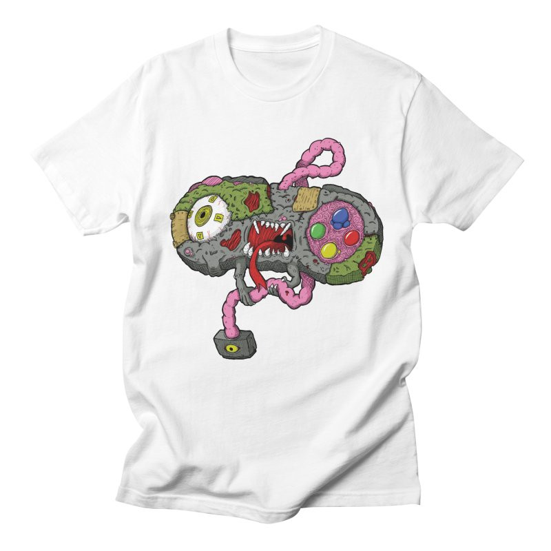 Controller Freaks - Super Nintendo Men's T-Shirt by Mystic Soda Shoppe
