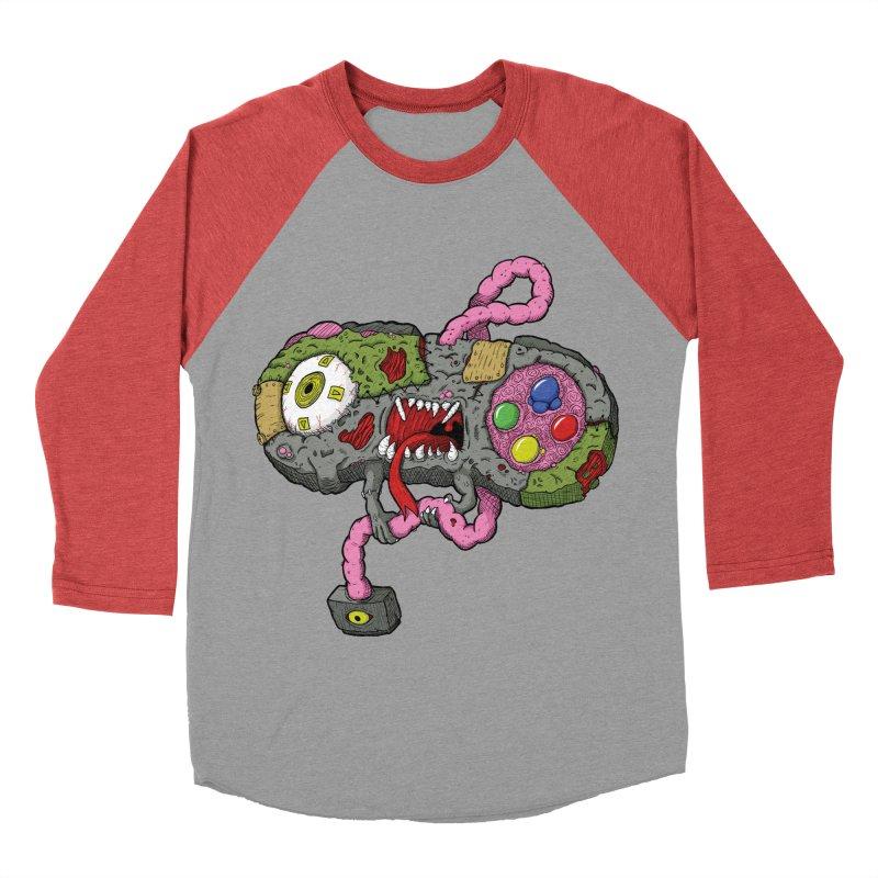 Controller Freaks - Super Nintendo Women's Baseball Triblend T-Shirt by Mystic Soda Shoppe