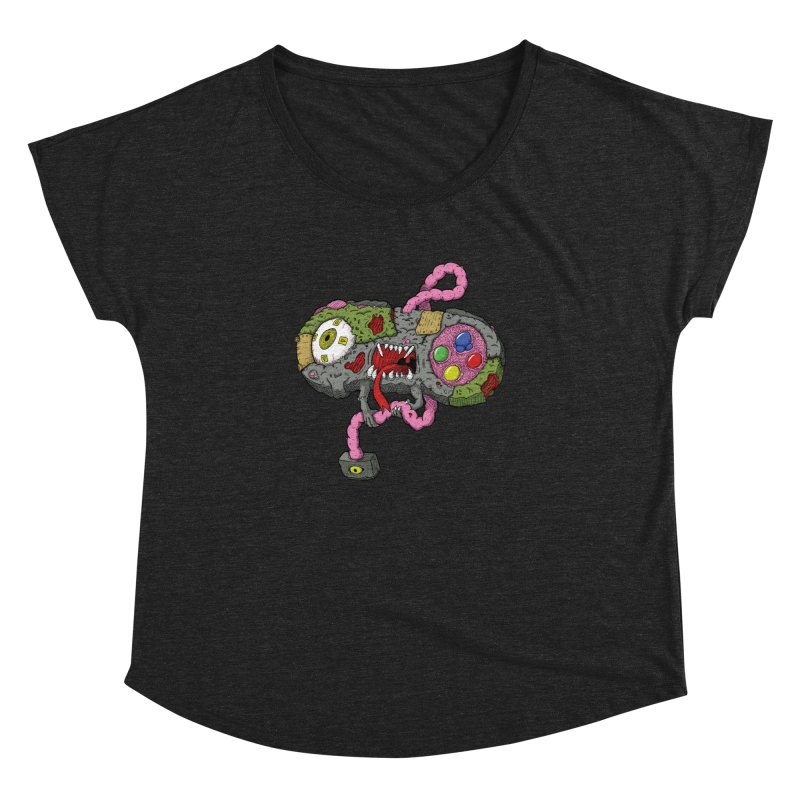Controller Freaks - Super Nintendo Women's Dolman by Mystic Soda Shoppe