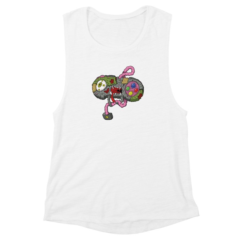 Controller Freaks - Super Nintendo Women's Muscle Tank by Mystic Soda Shoppe