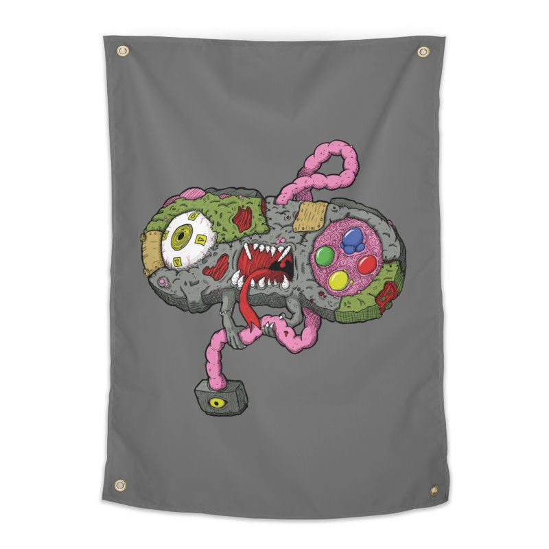 Controller Freaks - Super Nintendo Home Tapestry by Mystic Soda Shoppe