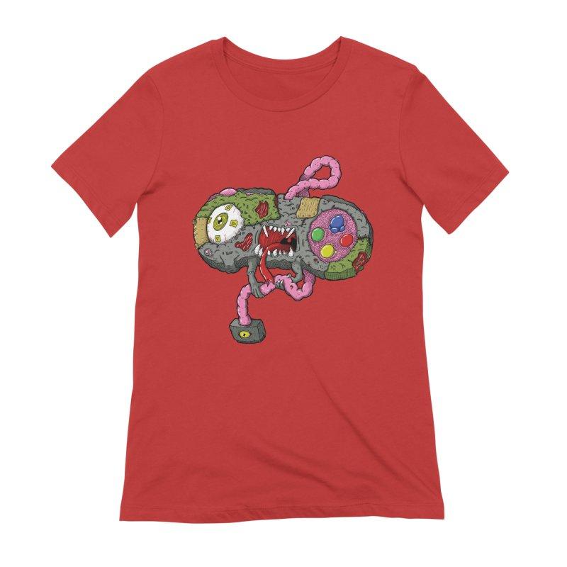 Controller Freaks - S Class-N35 Women's Extra Soft T-Shirt by Mystic Soda