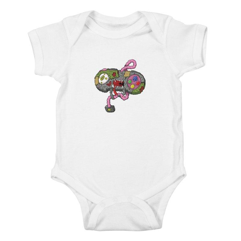Controller Freaks - S Class-N35 Kids Baby Bodysuit by Mystic Soda
