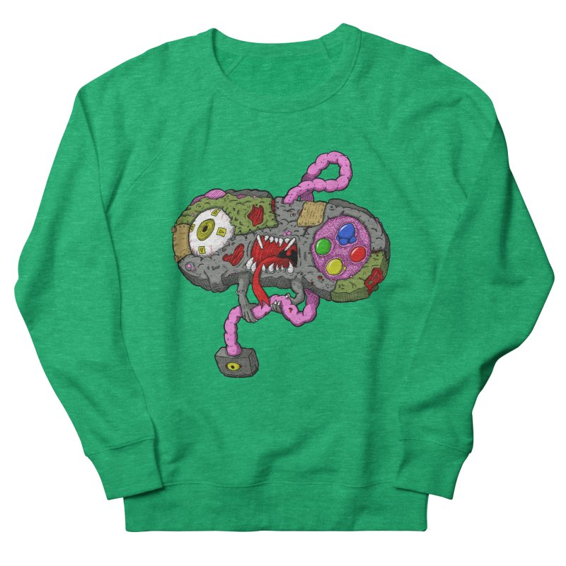 Controller Freaks - Super Nintendo Women's Sweatshirt by Mystic Soda Shoppe