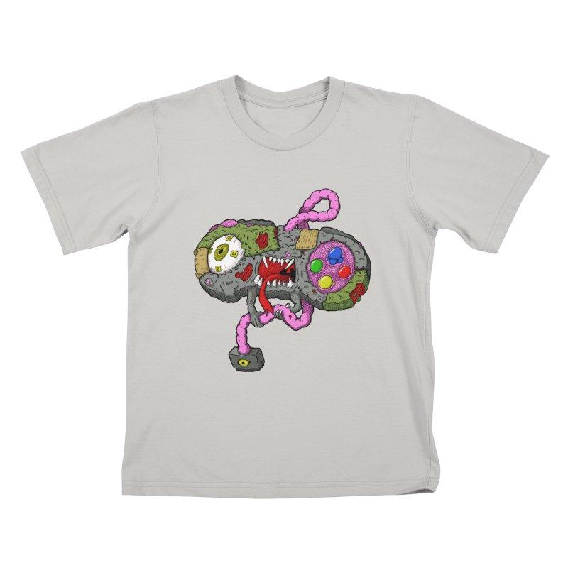 Controller Freaks - Super Nintendo Kids T-shirt by Mystic Soda Shoppe
