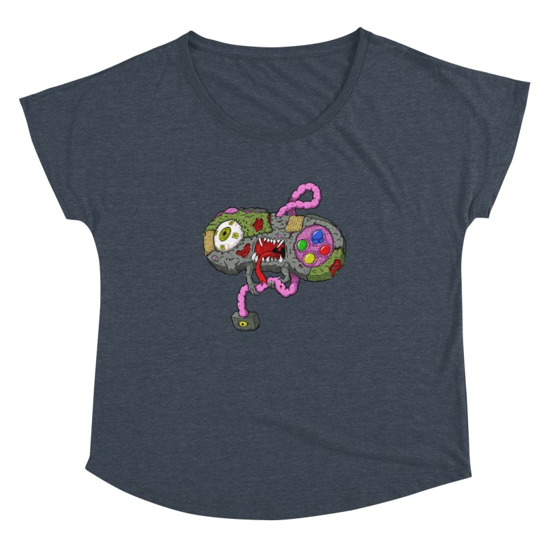 Controller Freaks - Super Nintendo Women's Dolman by Mystic Soda Shoppe