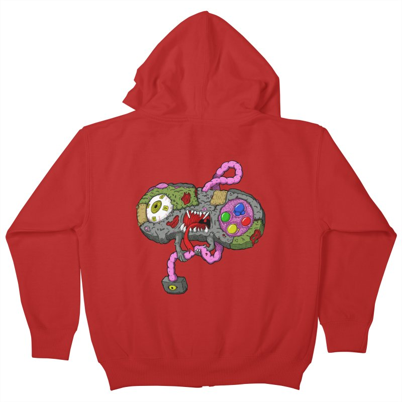 Controller Freaks - Super Nintendo Kids Zip-Up Hoody by Mystic Soda Shoppe