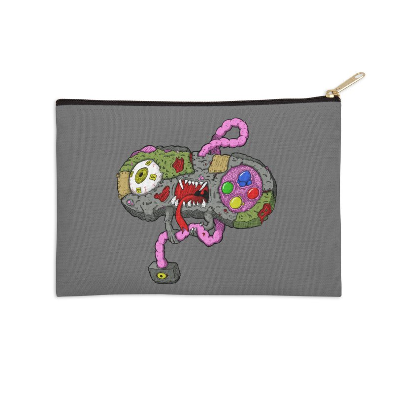 Controller Freaks - Super Nintendo Accessories Zip Pouch by Mystic Soda Shoppe