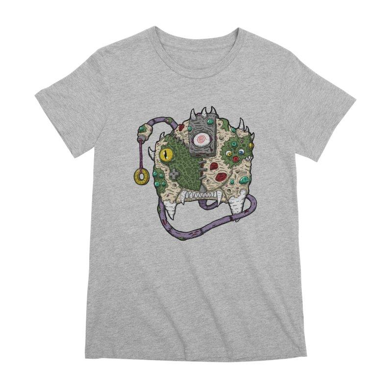 Controller Freaks - The DR34M-C45T Women's Premium T-Shirt by Mystic Soda Shoppe